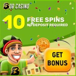Gratissnurr hos Bob Casino