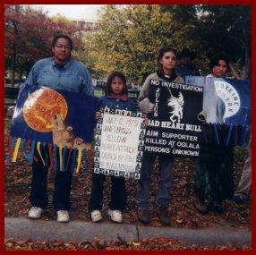 Vigil Honoring Native Lives
