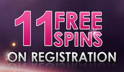 free spin on sign up casino