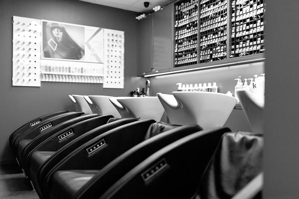 salong hårvård