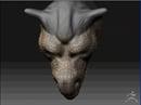 retopo-dragonhead