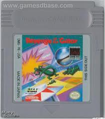 Pinball Revenge Of The Gator (L) - Gameboy (käytetty)