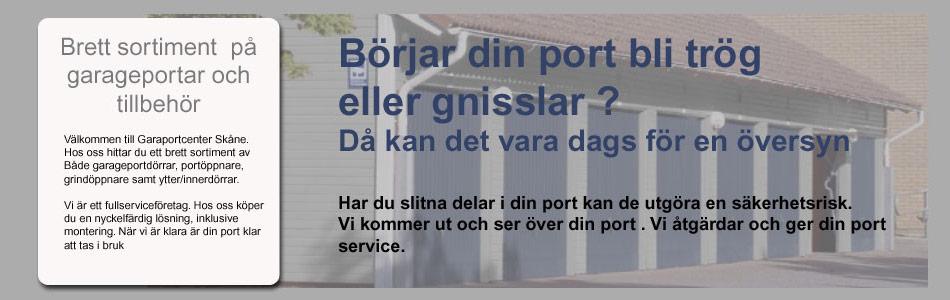 Garageport Lund