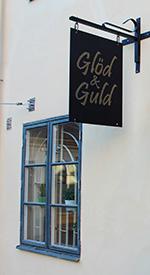 Glöd & Guld-skylten
