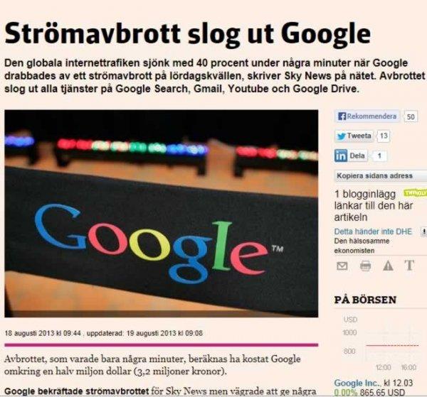 Google Googlar Bett tydelsens grip