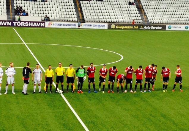 TNS en Ligue des Champions contre B36