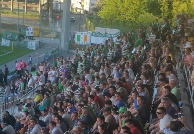 Fans de Shamrock Rovers