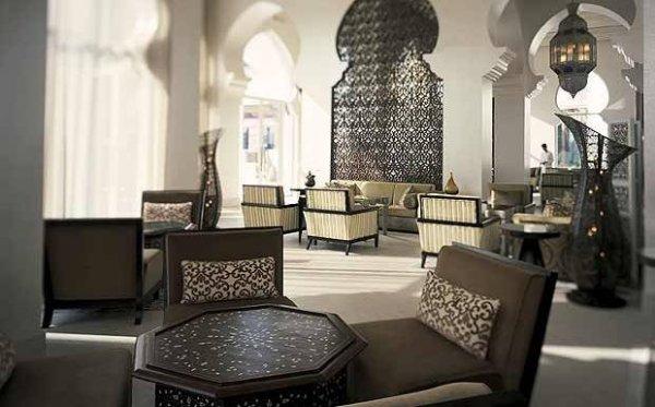 Marockansk stil Vardagsrum