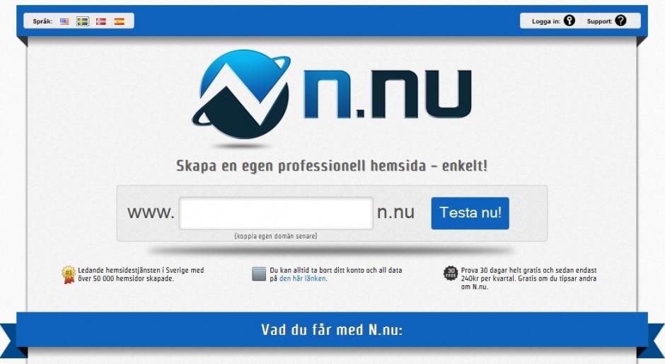 N.nu Hemsida - http://www.hemsida.n.nu