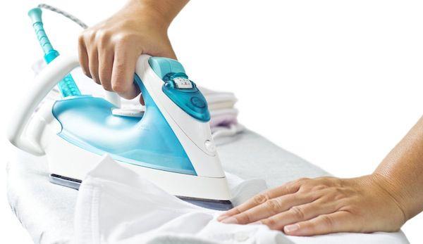 stryka kläder