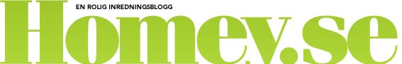 Inredningsbloggen Homeys logotype /  Till Homeys förstasida