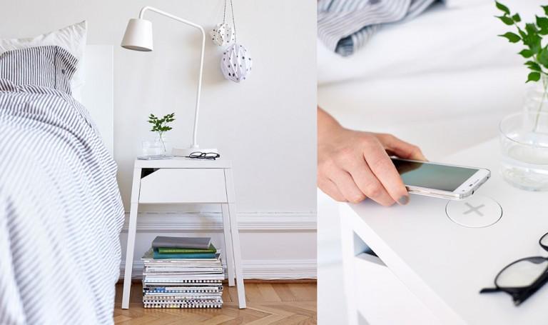 IKEA lanserar möbler med trådlösa laddningsstationer för mobiltelefoner