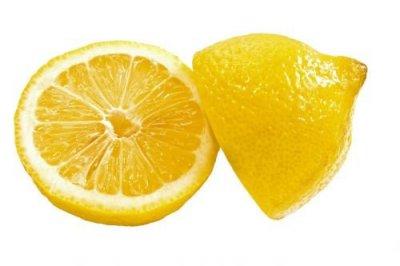 ansiktsmask med citron