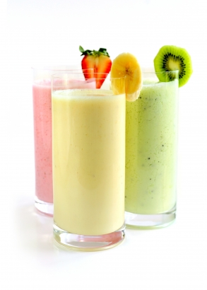 smoothie med melon kiwi