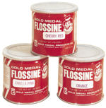 färga din sockervadd med detta flossine