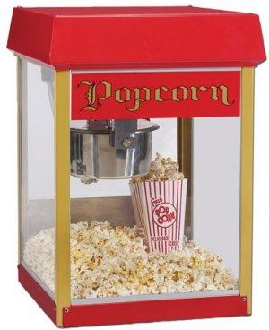 Hyra-popcornmaskin-popcorn