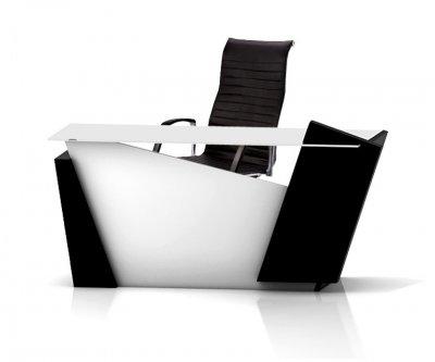 گروه میز های مدیریتی مدرن و شیشه ای آرفونی مدل تائو