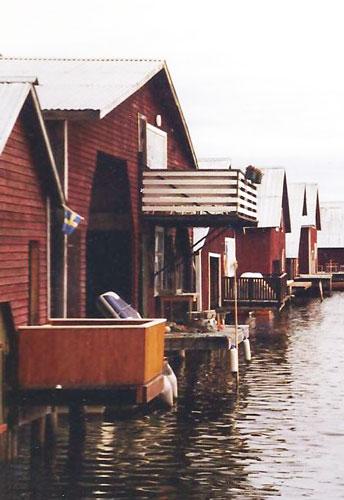 Sjöbodar vid Norrlandskusten