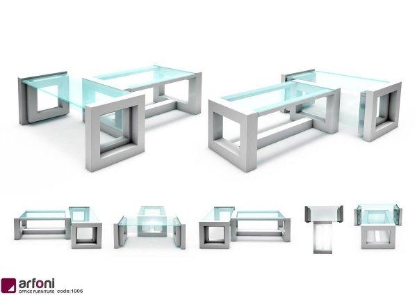 میز مدیریتی ام دی اف و صندلی اداری مدل 201 ایران میز
