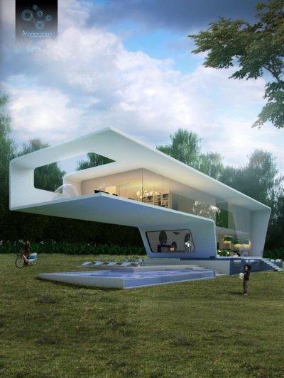 fantastiska hus