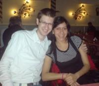 Neyda and me