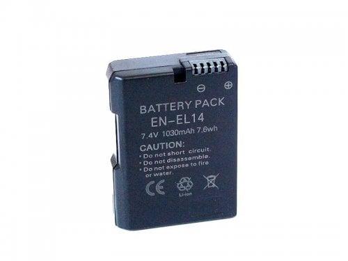 Kamerabatteri motsv. Nikon EN-EL14