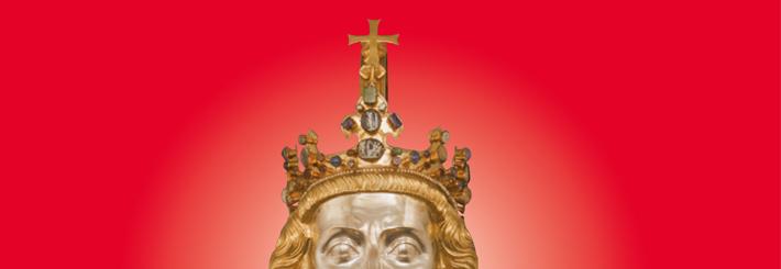 Karl der Große (Karlsbüste © Domkapitel, Foto: Pit Siebigs)