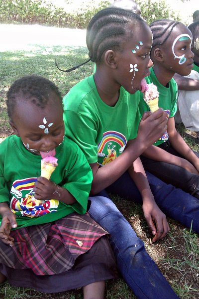 The Kibera kids went for picnic in March 2016 to the Uhuru Park in Nairobi Kenya