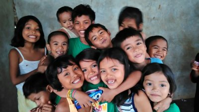 The kids in the Tangub mountains in Philippines received bibles in July 2016.  KKC thanks the donor for the bibels