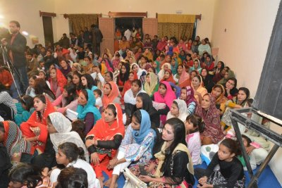 KKC and FCM together on Christmas Prayer Festival in F-city, Pakistan
