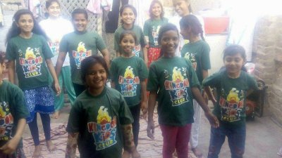 Kingdom Kids Clup in Pakistan singing Christian songs together