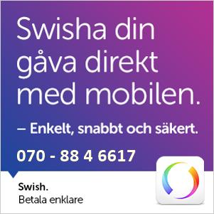 Swisha din gåva direkt med mobilen enkelt och snabbt