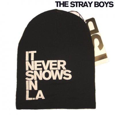Svart the stray boys mössa