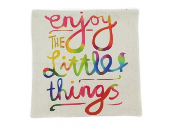Kuddfodral Enjoy Little Things 45x45cm
