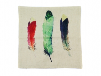 Kuddfodral Three Feathers 45x45cm