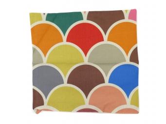 Kuddfodral Circle Colours 45x45cm