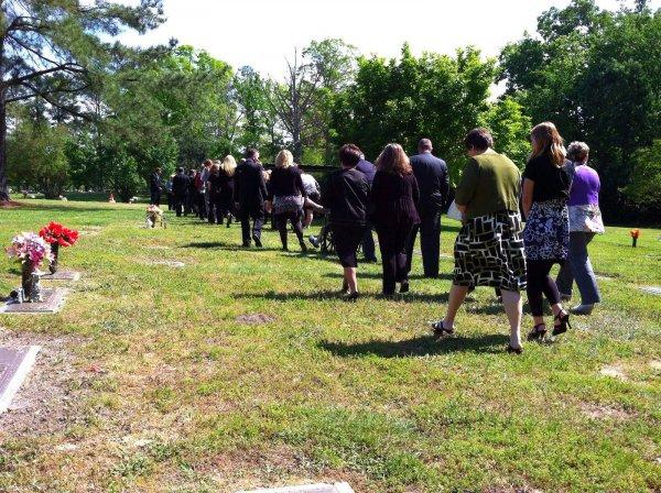 Begravningsetikett