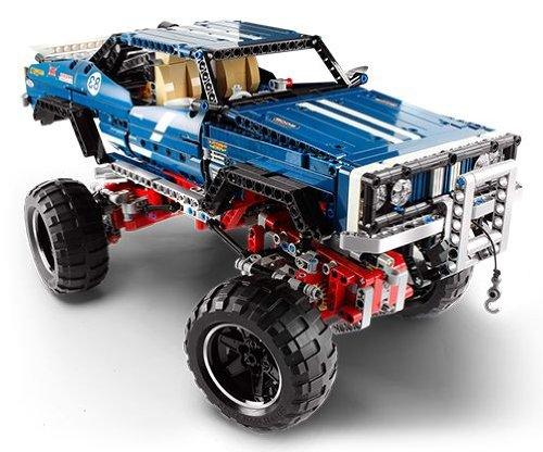Legobil Big Squid