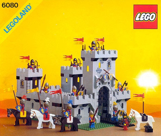 Lego borg retro