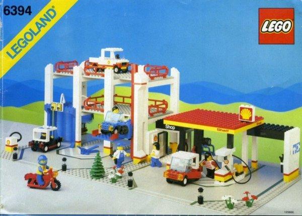 Garage och Bensinstation