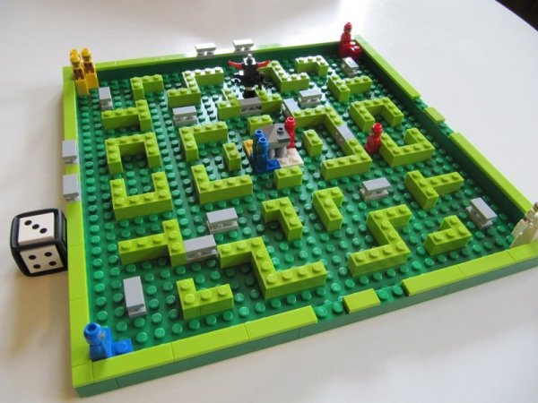 Lego Minotaurus-labyrit