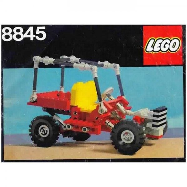 teknik lego jeep 8845