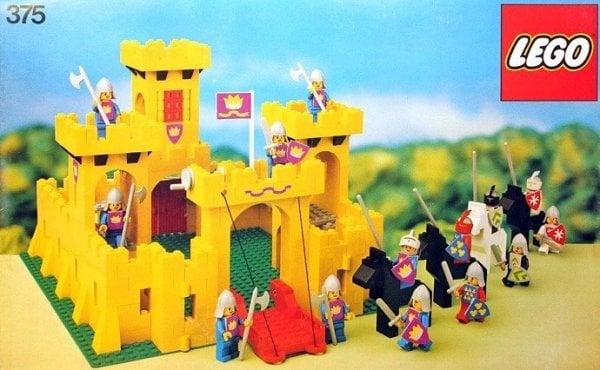 Gul LEGO borg