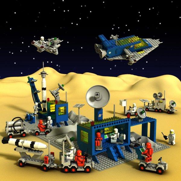 Rymd-LEGO från 80-talet