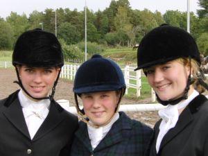 Alexzandra Leideborg, Karin Häll & Sofia Ridderstad