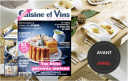 nouvelle formule du magazine cuisine et vins de france