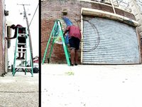Bildspel, Nosego Wall in Point Breeze, Philadelphia