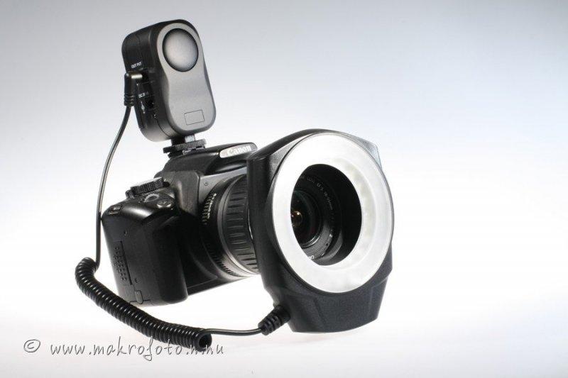 LED-ljus för makroto