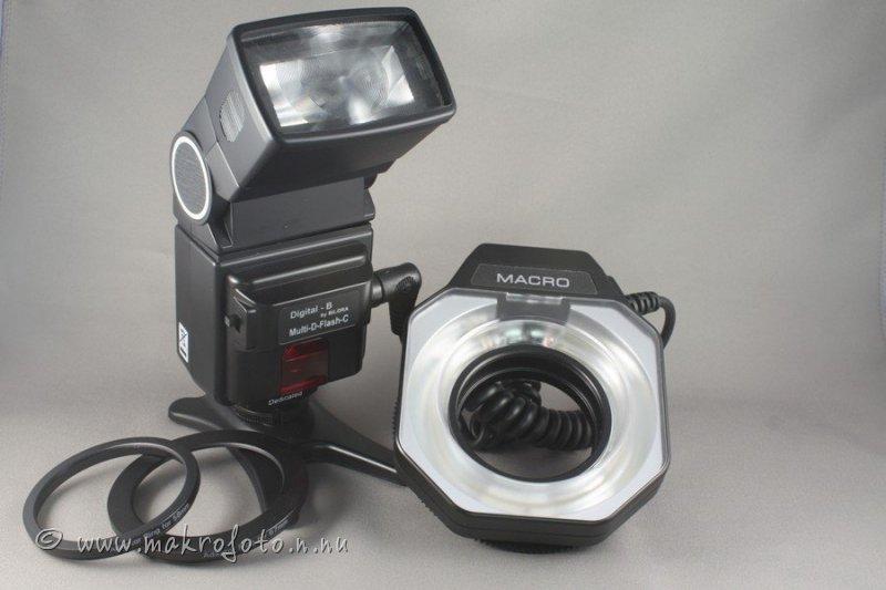 Ringblixt för makrofoto, Bilora Multi