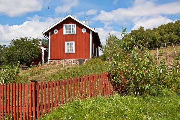 falu rödfärg villa
